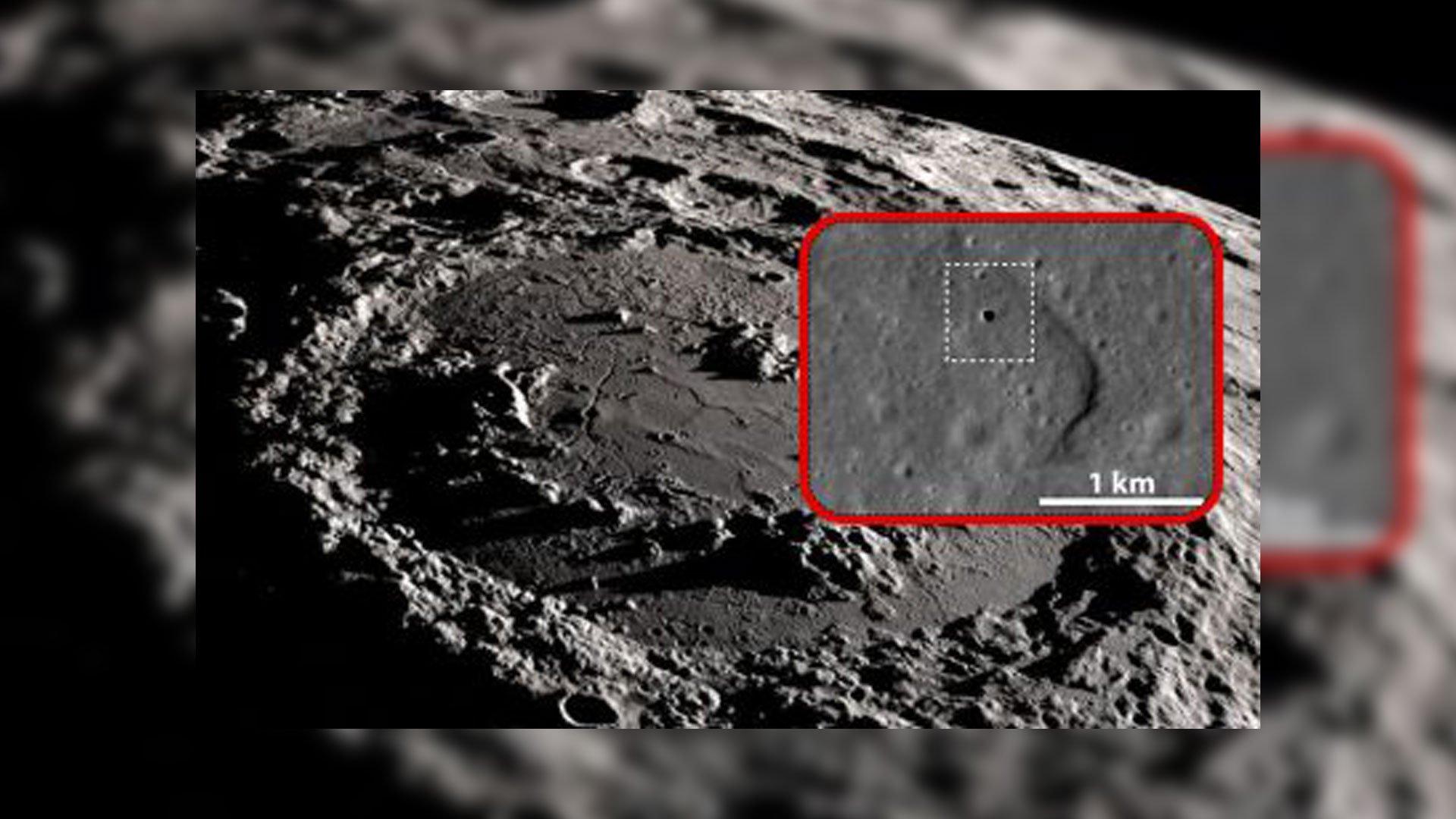 Investigadores encuentran 'la entrada' a la Luna