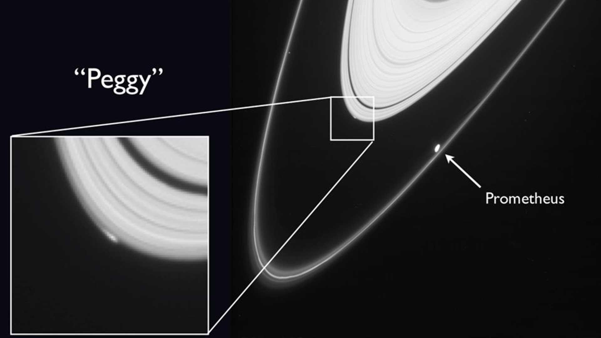 Esta extraña imagen de Saturno es la última que sacó la sonda espacial Cassini antes de estrellarse