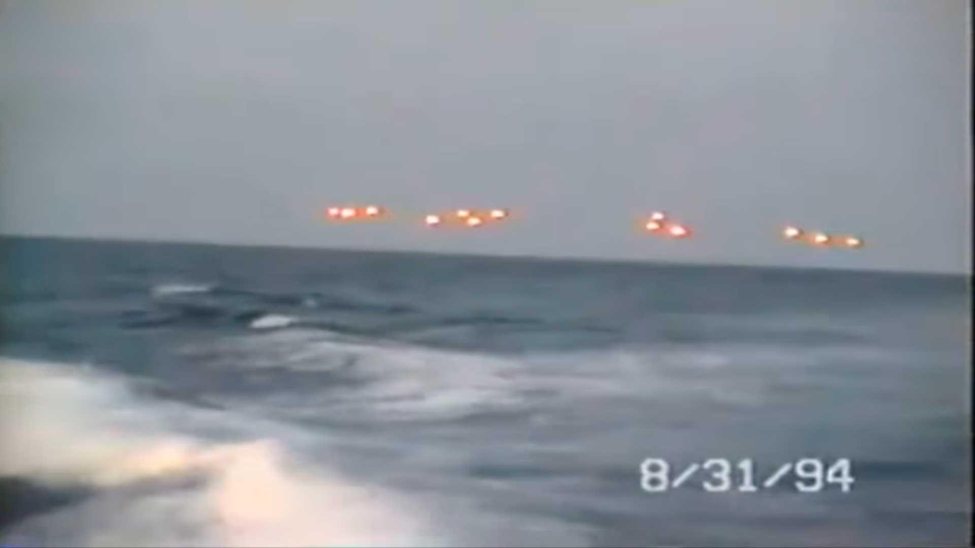 Este incidente OVNI grabado en 1994 en aguas de Florida sale ahora a la luz