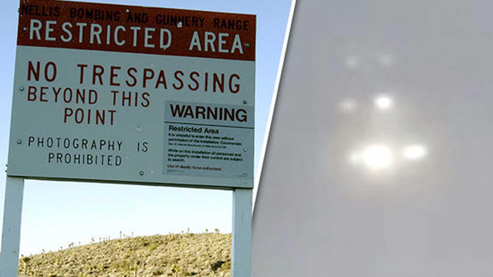 Graban OVNI cerca del Área 51 desde un avión comercial