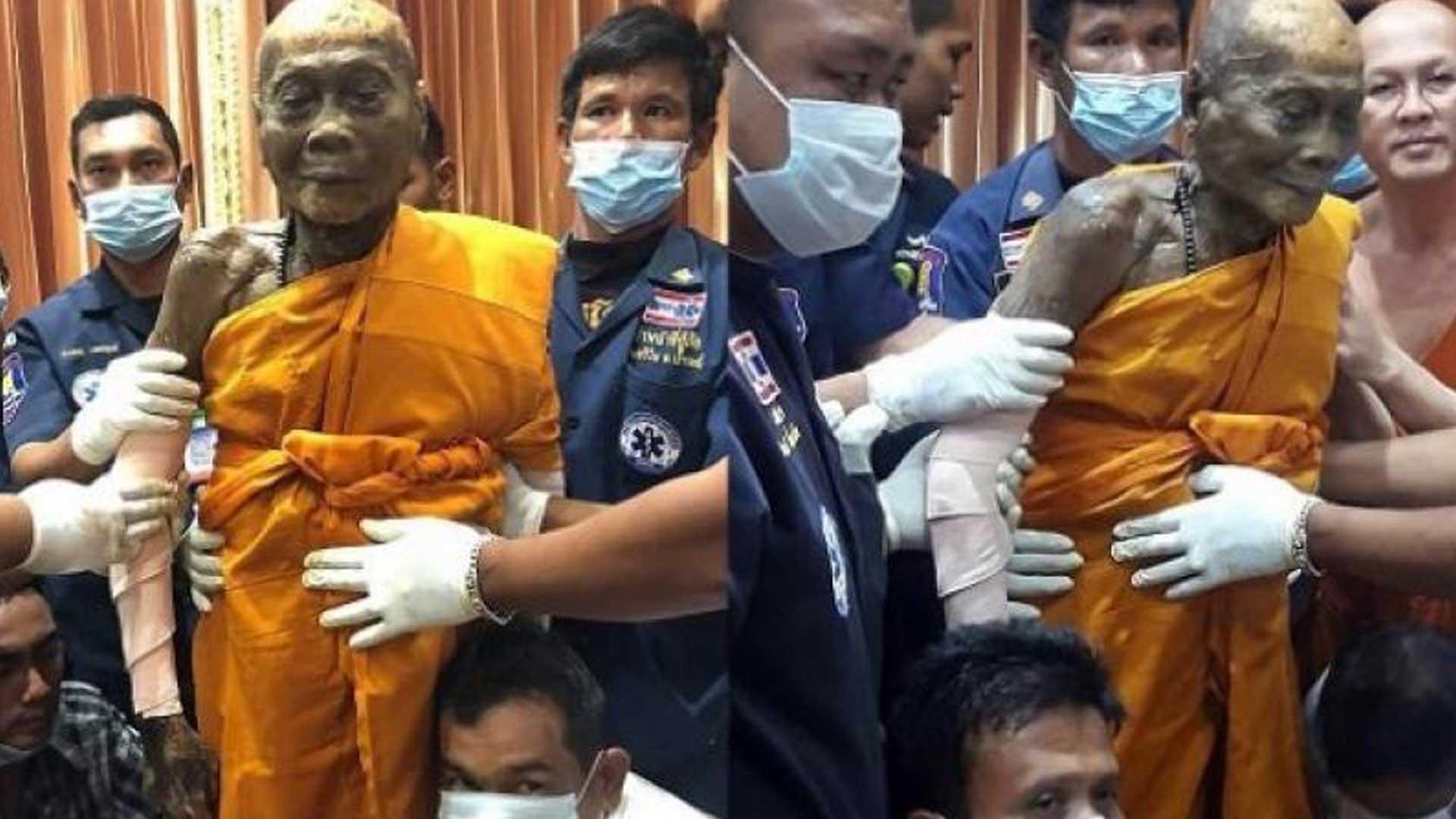 El extraño caso del monje budista que sigue sonriendo incluso dos meses después de su muerte