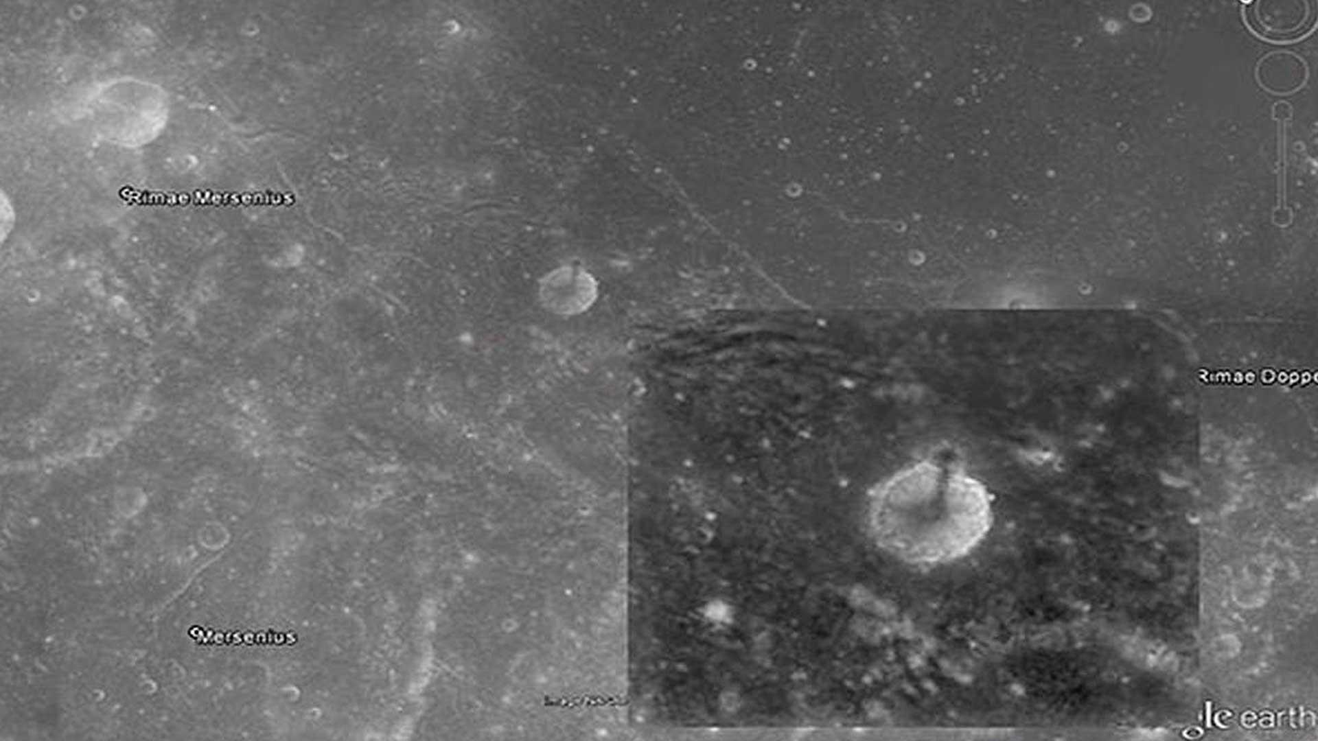 ¿Qué es esta rara espiral en la superficie de la Luna? Estos son los datos