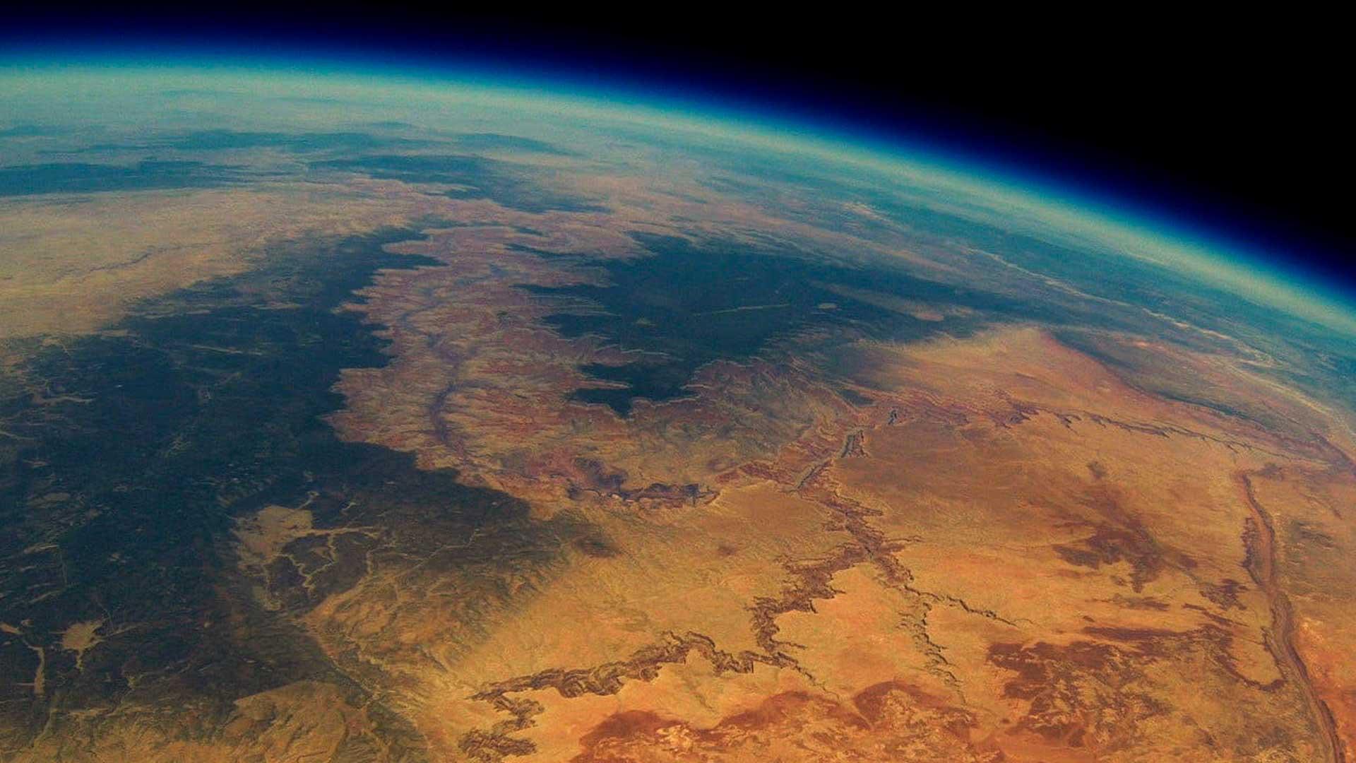 Globo con vídeo GoPro desde el espacio encontrado dos años después