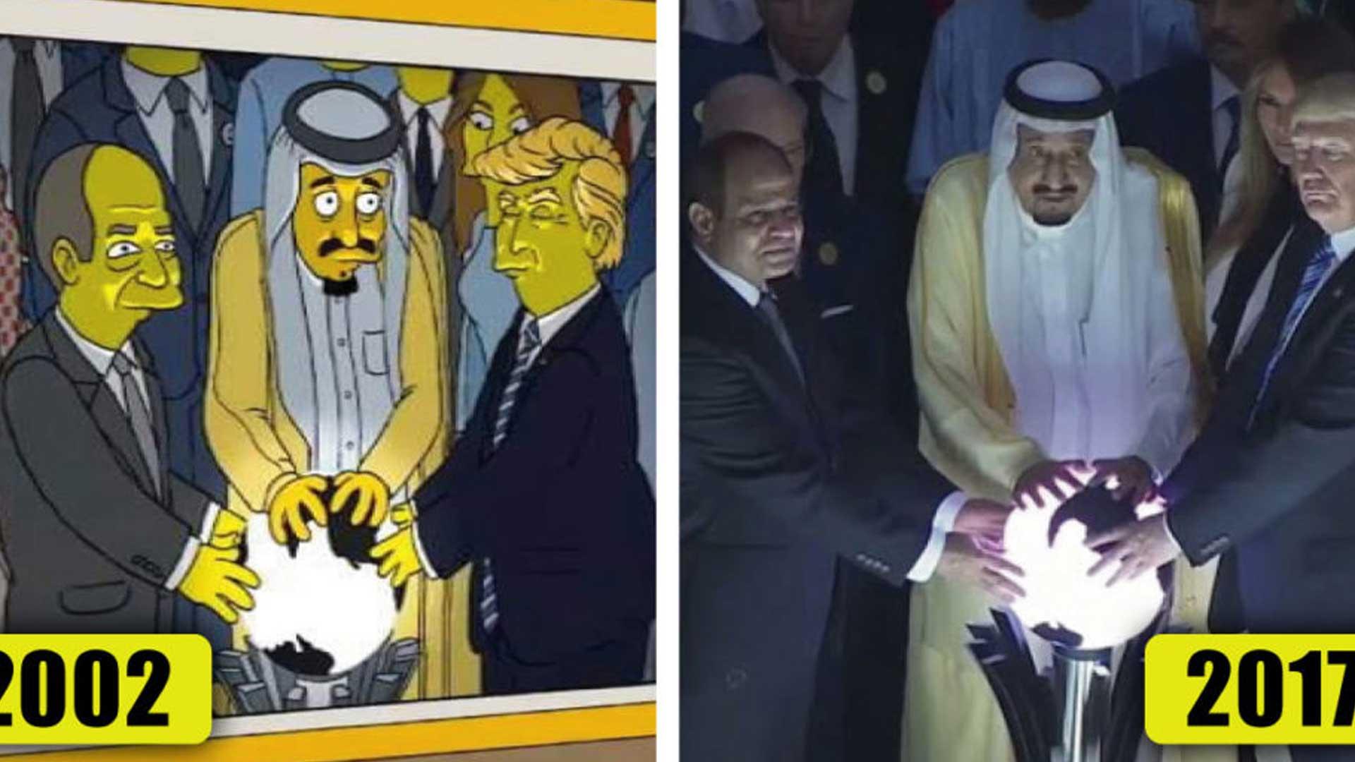 Increíble recopilación de las predicciones que los Simpson emitieron a lo largo de su historia