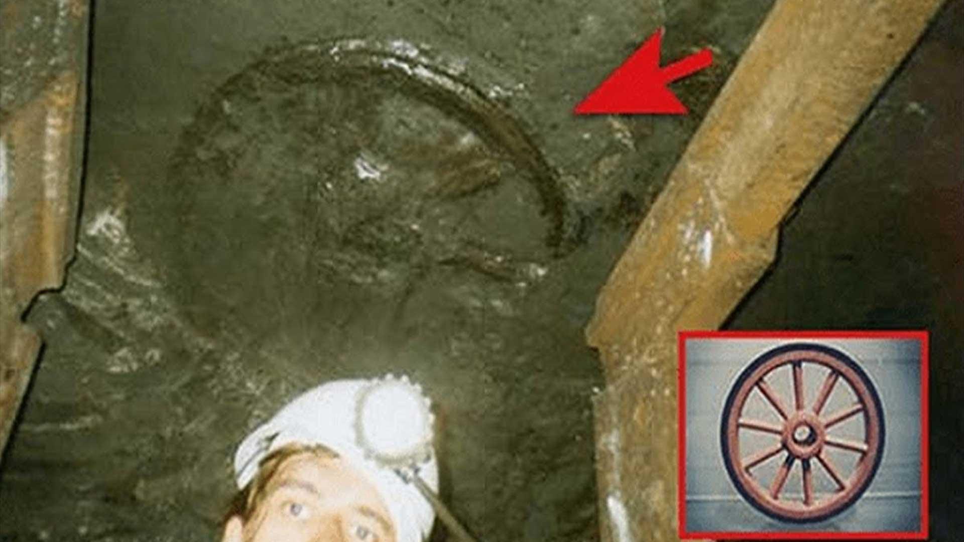 El extraño caso de la rueda de carro incrustada en un estrato de 300 millones de años