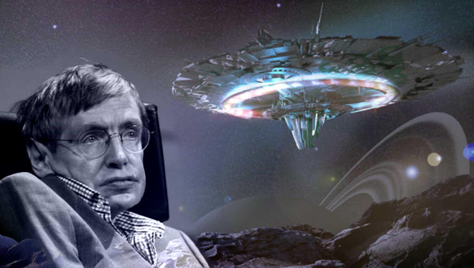 El miedo de Stephen Hawking hacia los extraterrestres