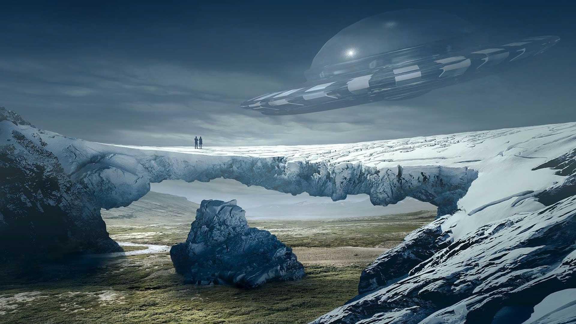 Antártida en acción con múltiples avistamientos OVNI en la zona