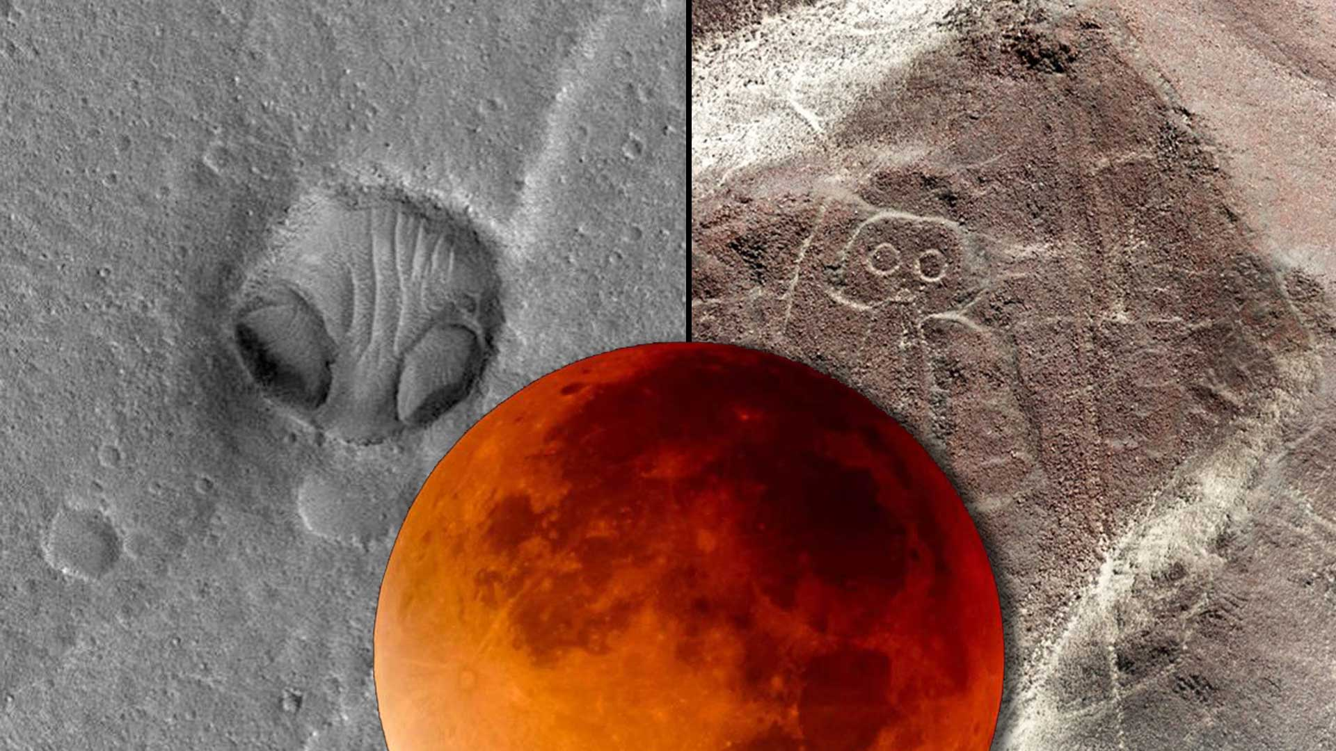 Expertos dudan: ¿Es esta una Línea de Nazca marciana?