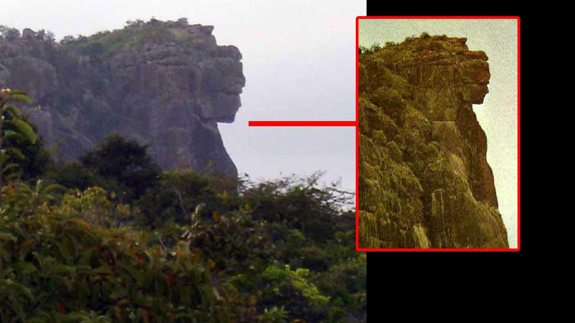 La Diosa Blanca, ¿pareidolia o creación de una antigua civilización africana?
