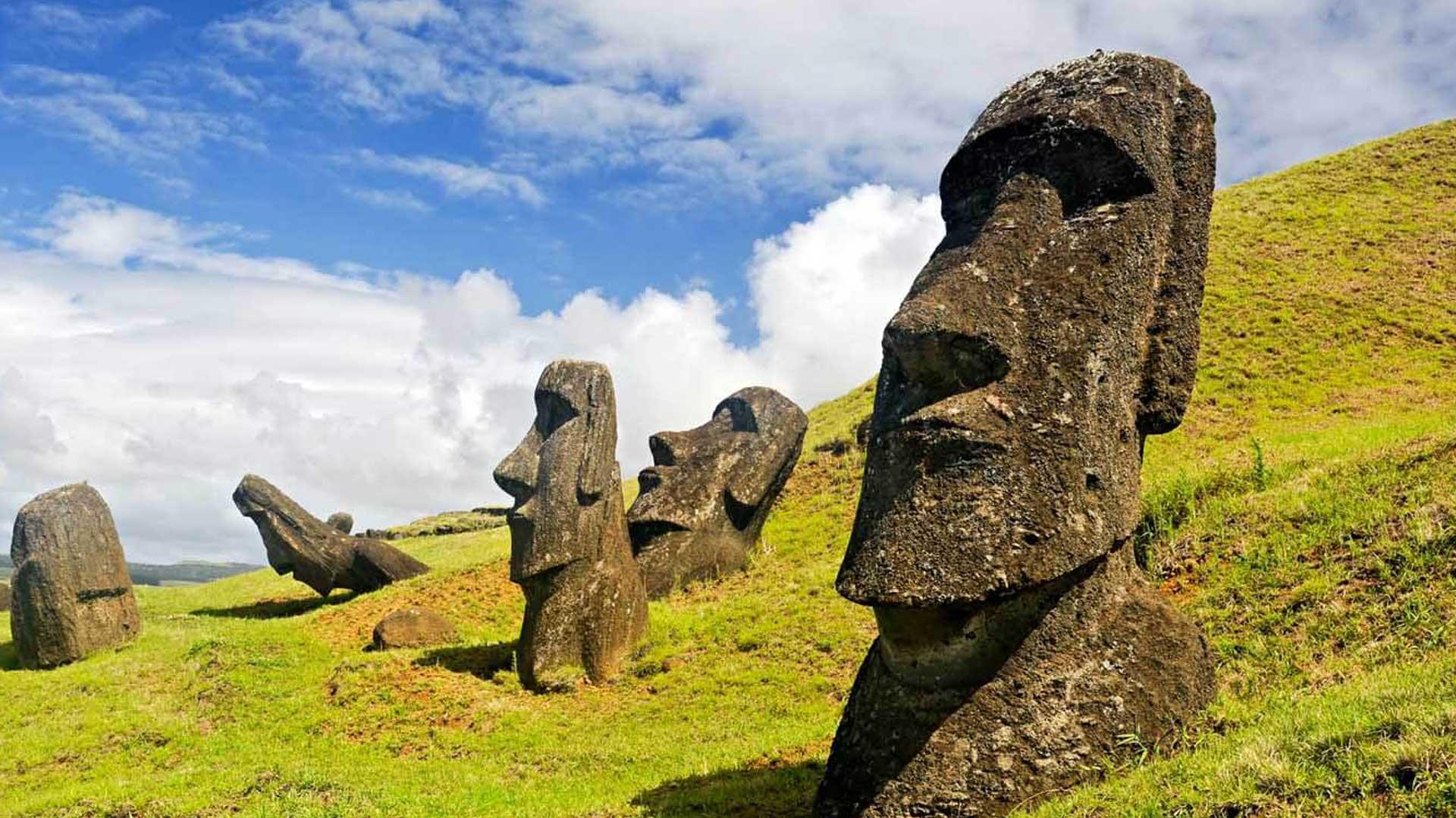 Científicos descubren algo increíble sobre las estatuas en la Isla de Pascua