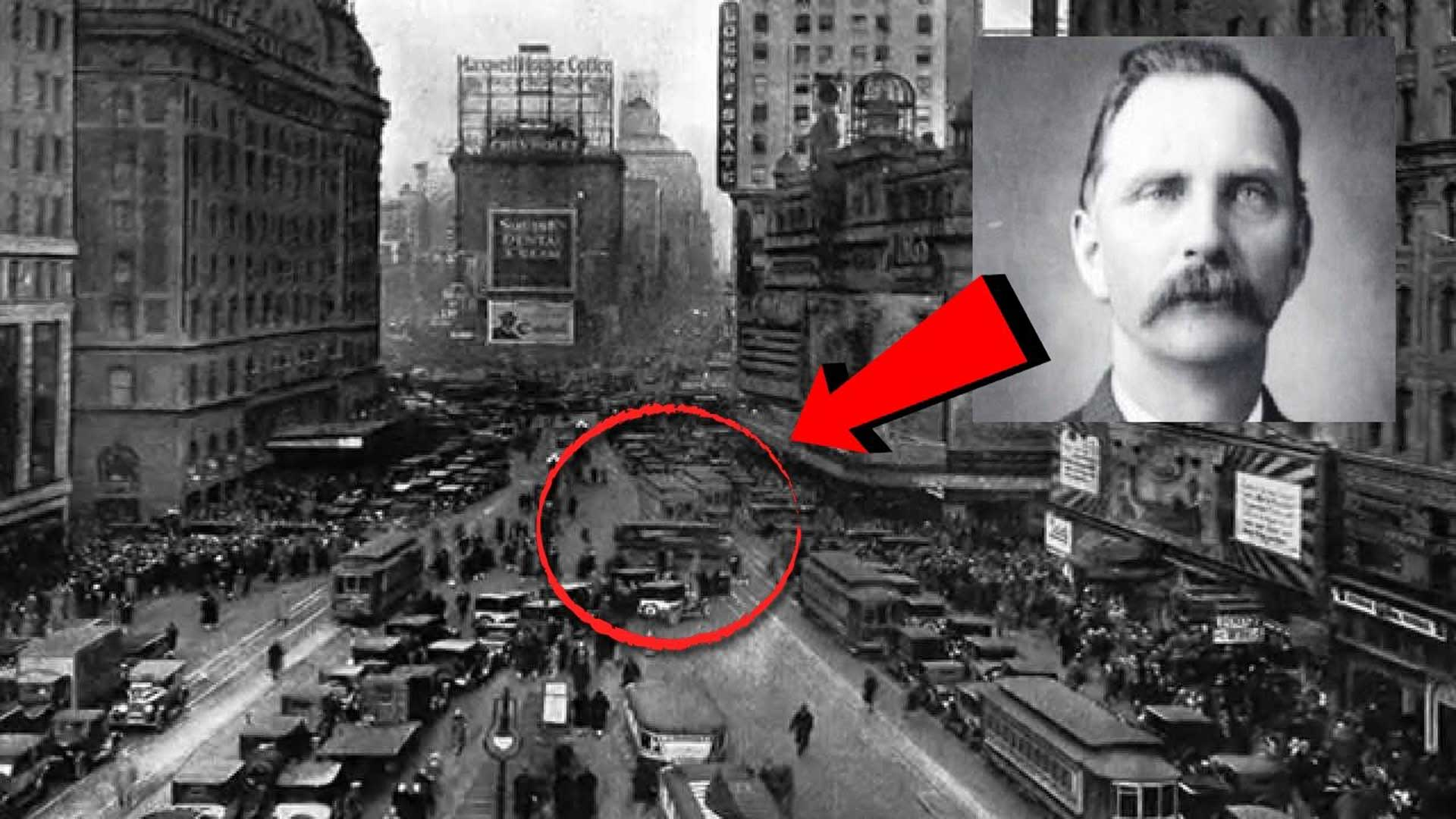 Rudolph Fentz, el hombre que viajó desde el antiguo Oeste al Nueva York de los 50