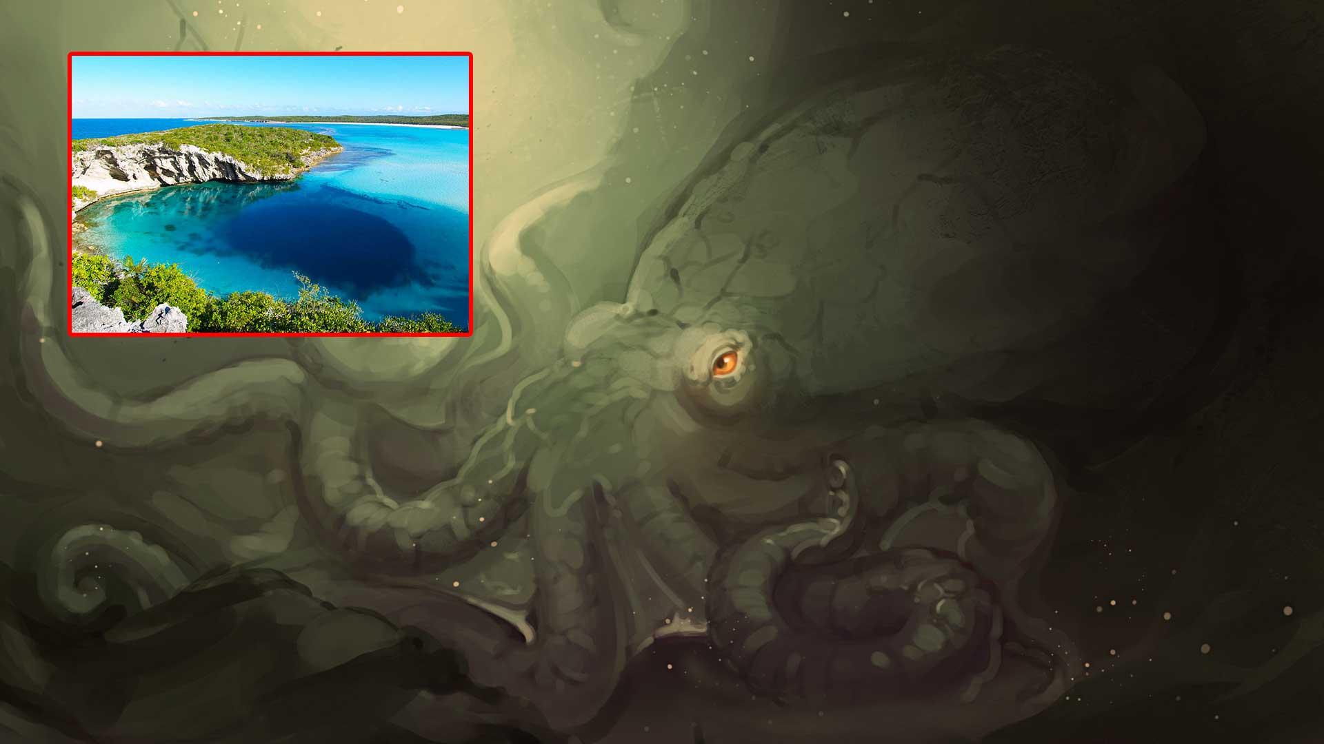 La criatura de los Agujeros Azules atemoriza a los bahameños