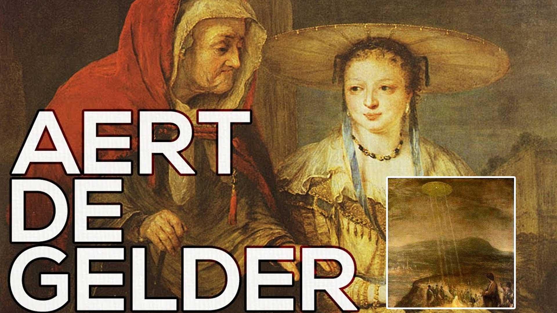 La pintura del siglo XVIII dónde aparece un Ovni