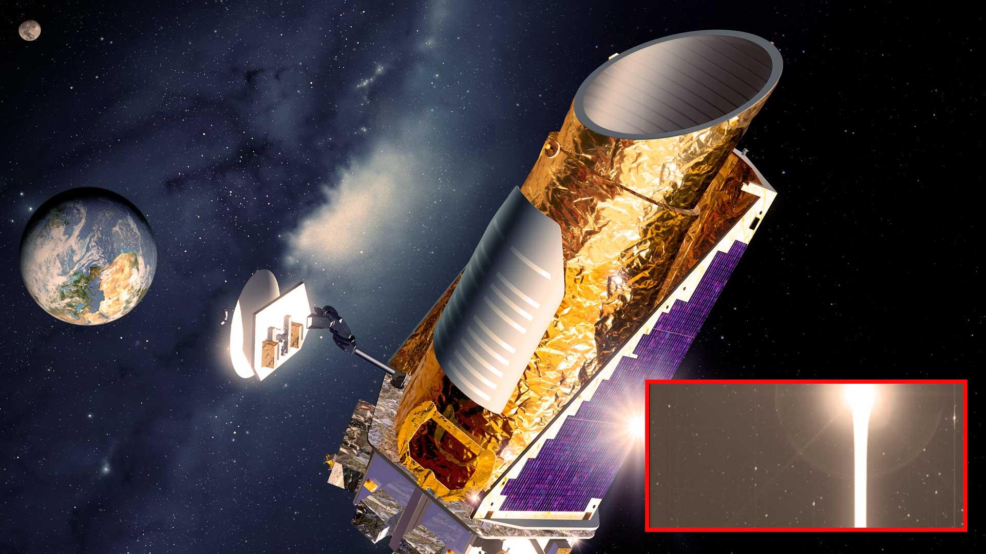 El telescopio espacial Kepler capta extraña imagen y los científicos no saben qué es