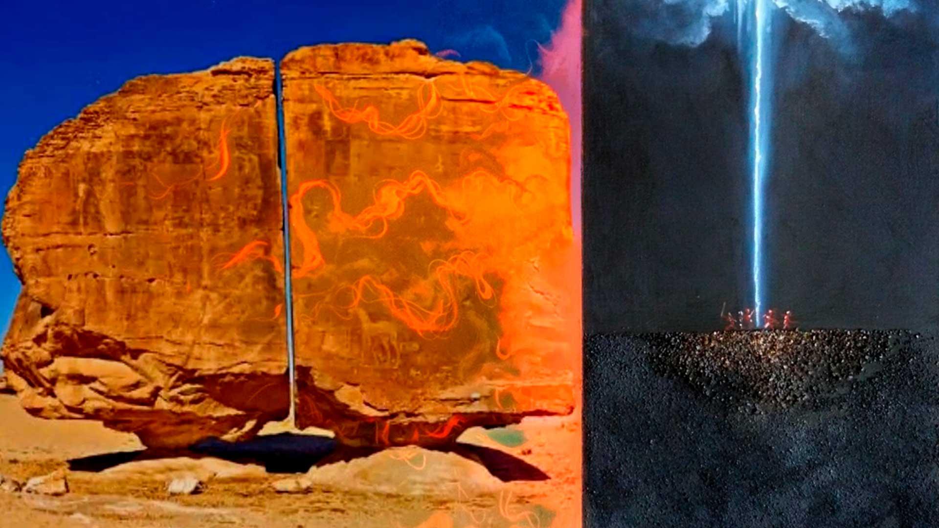 Al-Naslaa, el misterioso megalito que parece haber sido cortado por un láser