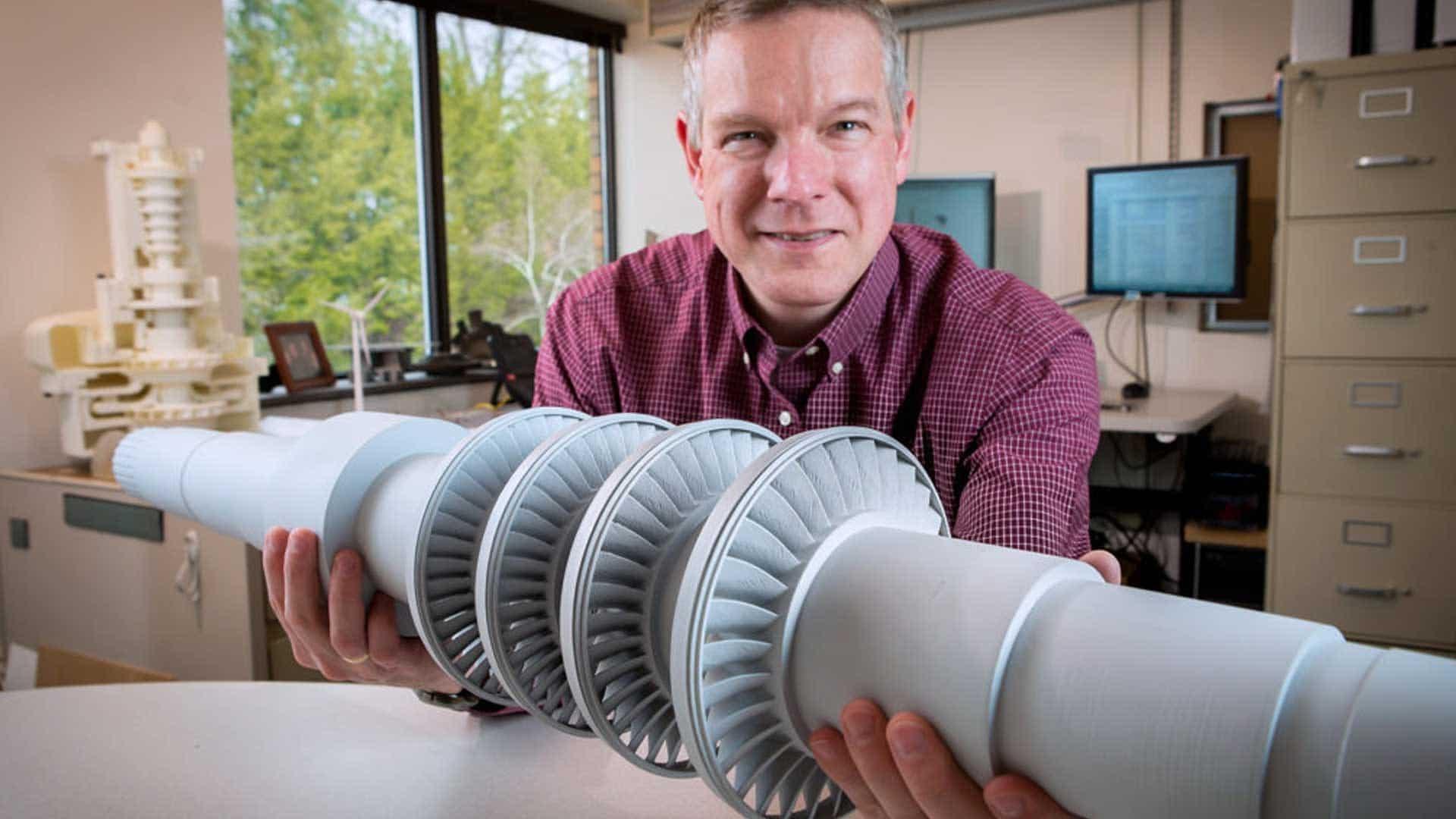 Esta pequeña turbina desarrollada por ingenieros es capaz producir electricidad para una ciudad pequeña