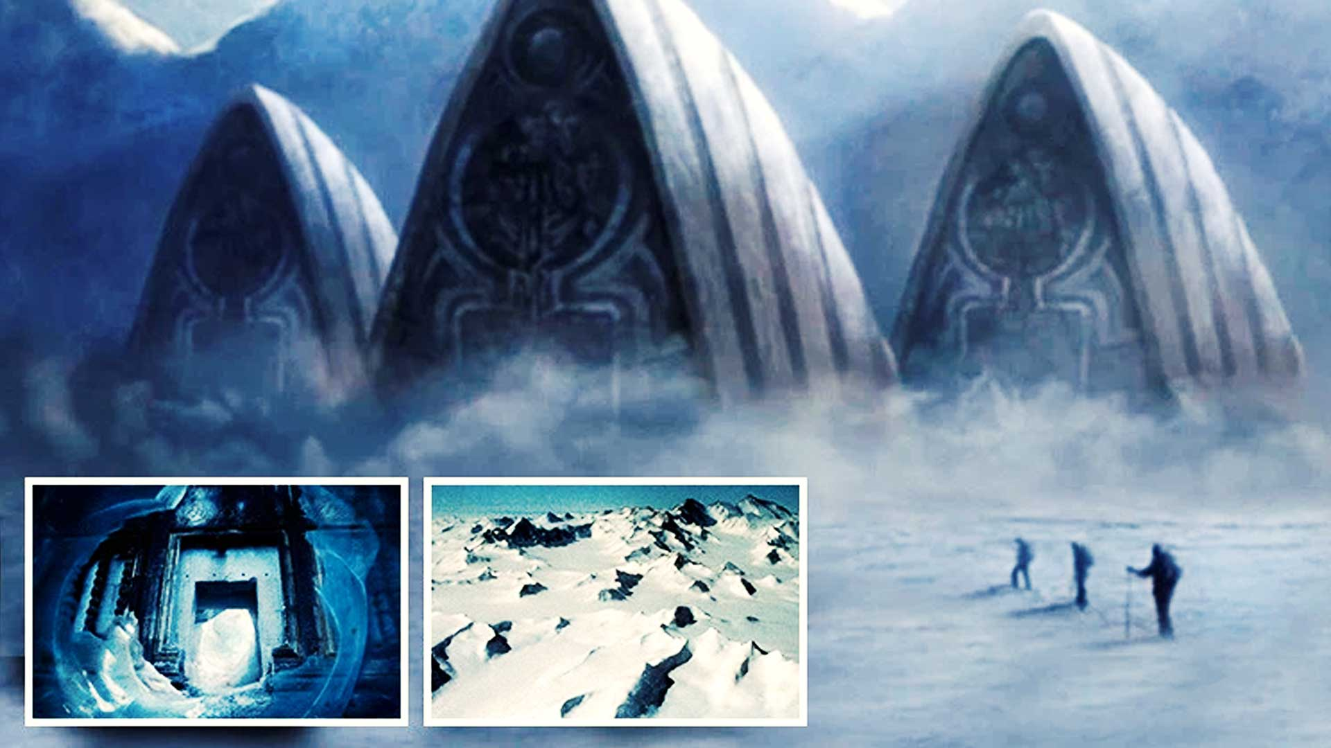 La misteriosa estructura oculta en el hielo, los Secretos de la Antártida