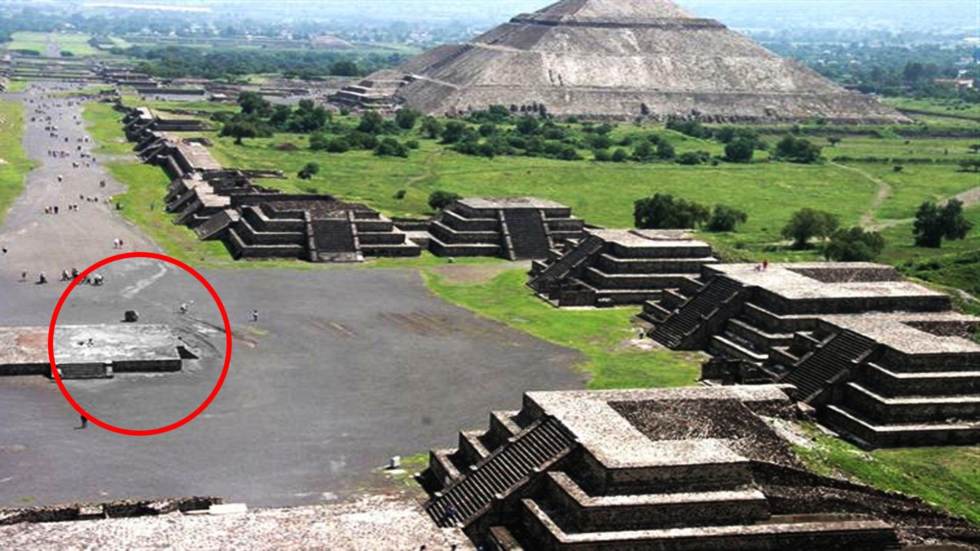 Increíble – Estas son las imágenes más antiguas que existen de Teotihuacán