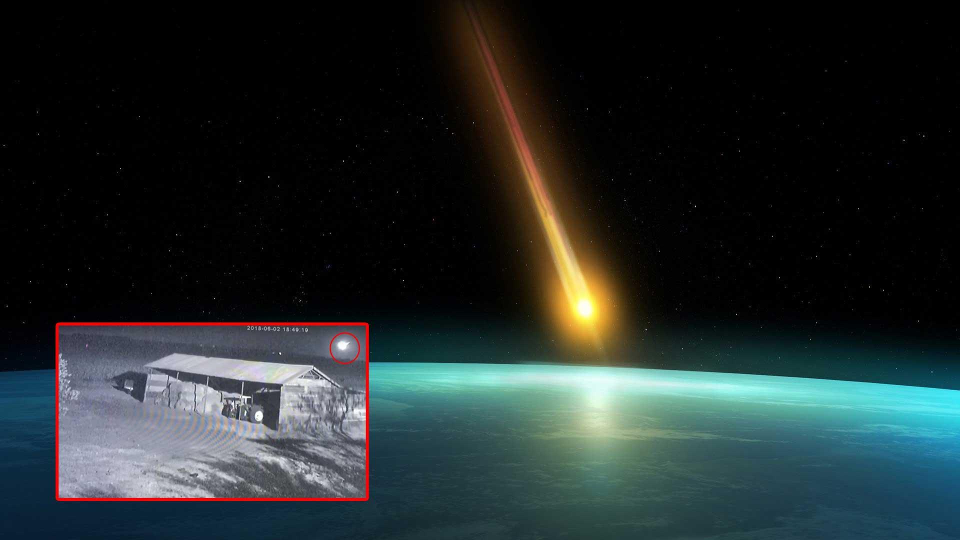 Un asteroide impactó contra la tierra y apenas nos dimos cuenta