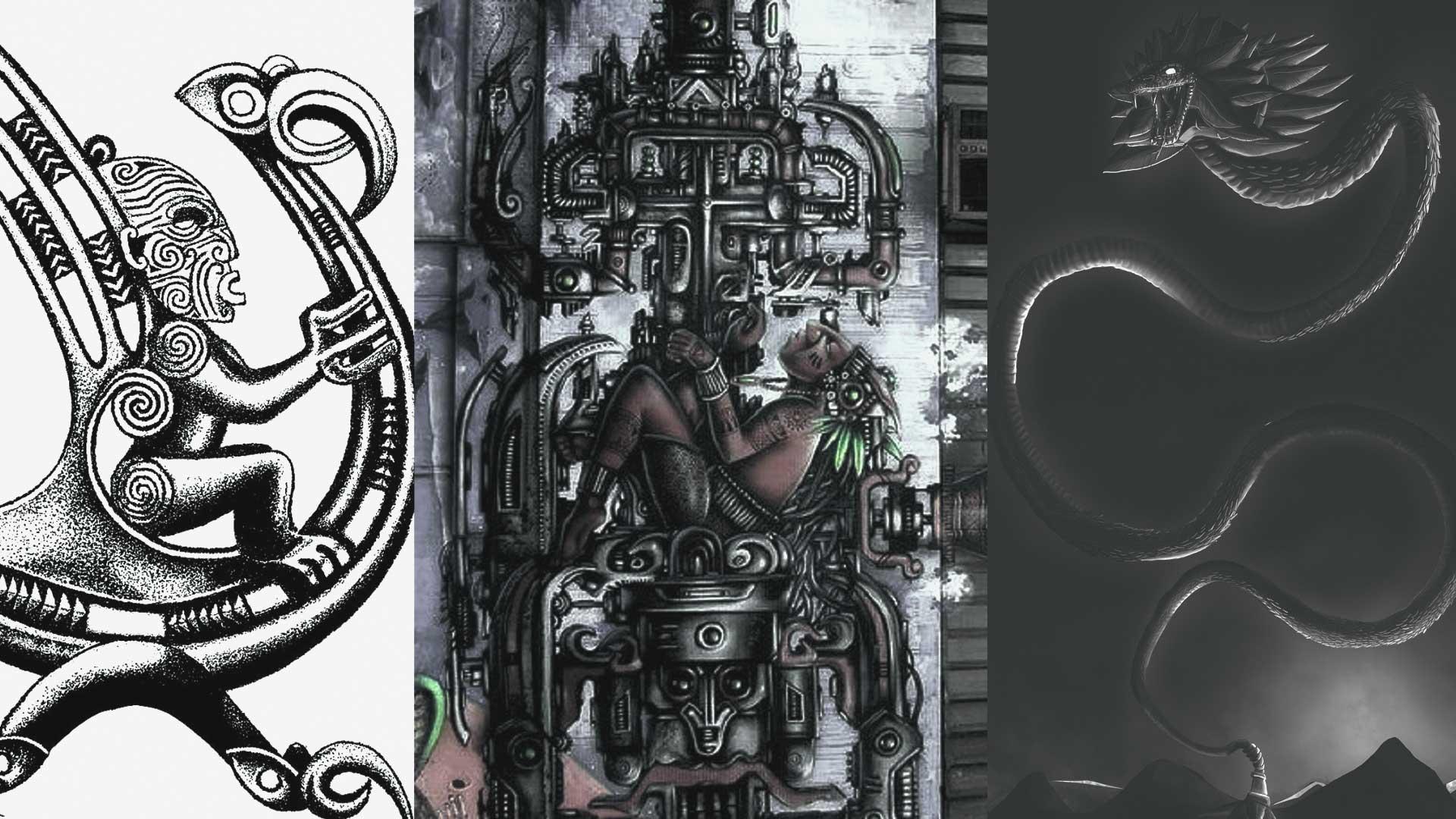 Las semejanzas de dioses antiguos de muchas culturas con Extraterrestres