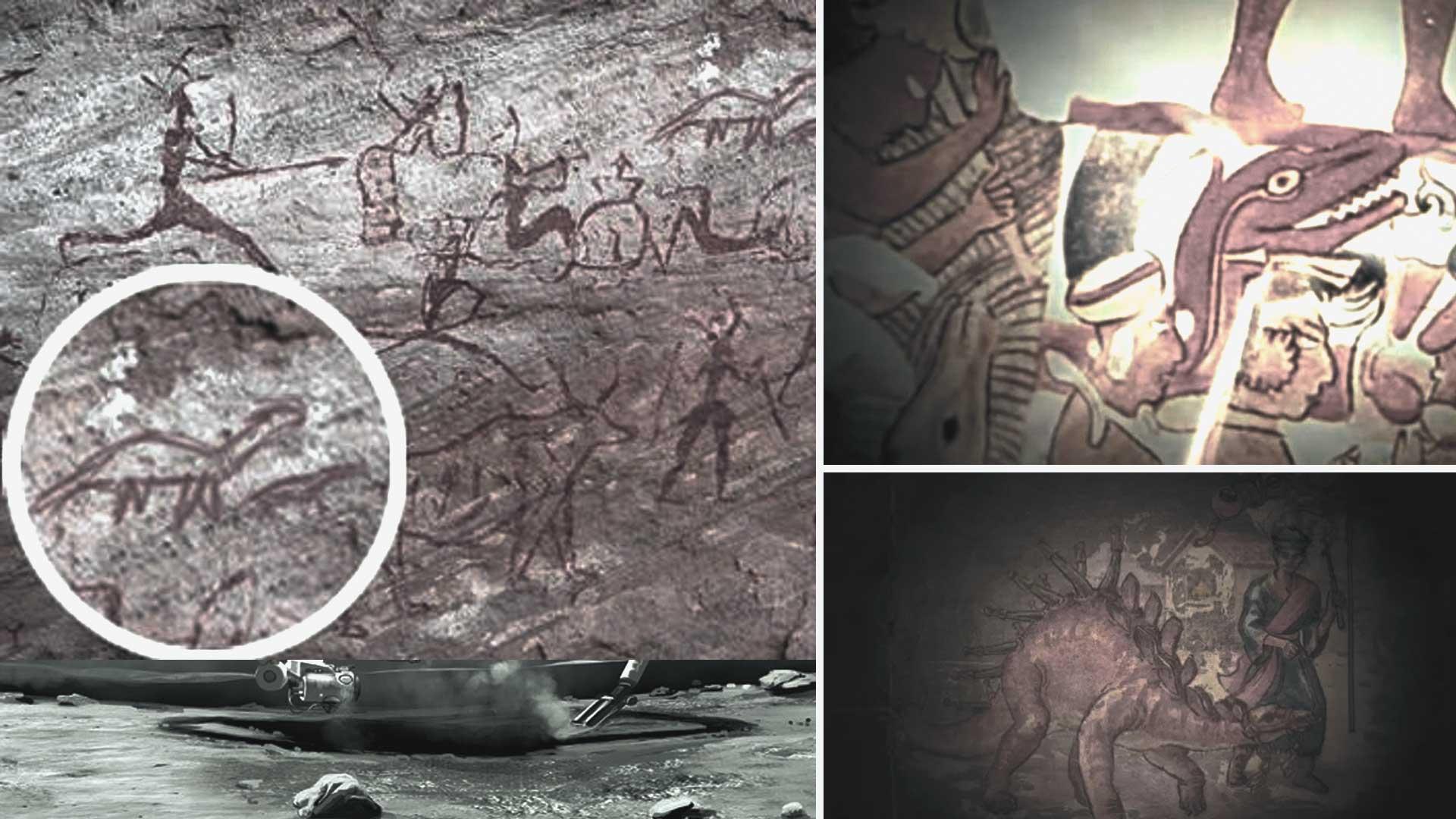 Seres humanos vivieron con dinosaurios en algún momento, estas son las pruebas