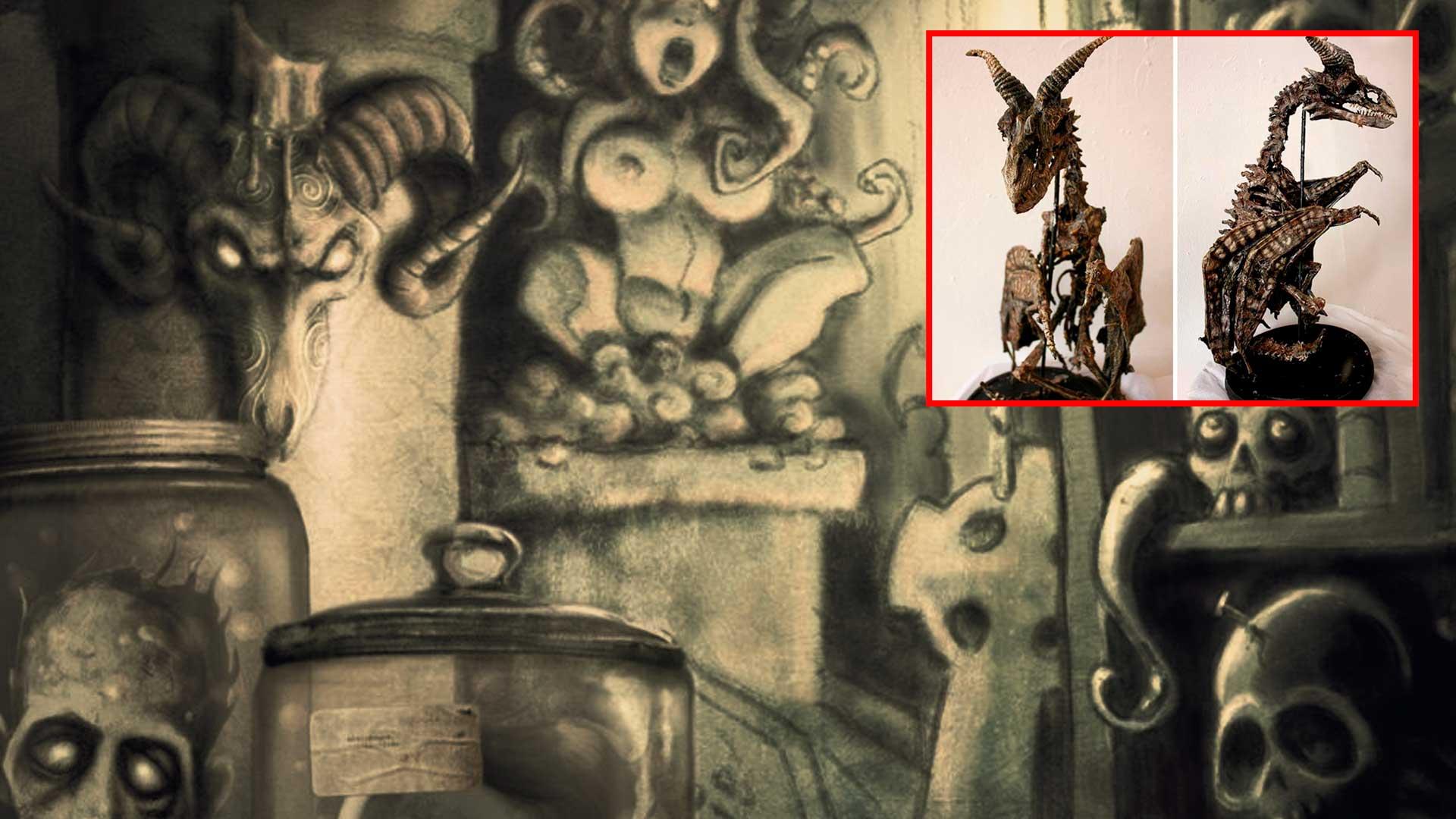 El Museo de Merrylin de las criaturas mitológicas ¿confirma su existencia?