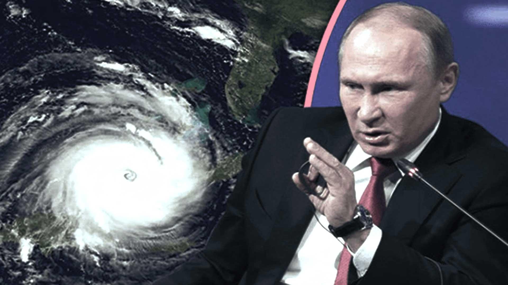 Putin asegura que Rusia podrá demostrar que los huracanes son provocados por el hombre