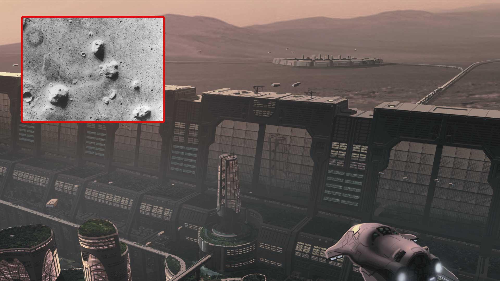 Los científicos concluyen: Una raza tecnológicamente avanzada existió en Marte hace millones de años