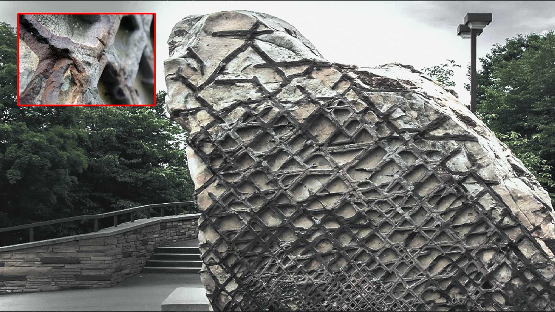 La Roca Gofre: restos de tecnología extraterrestre de hace 300 millones de años