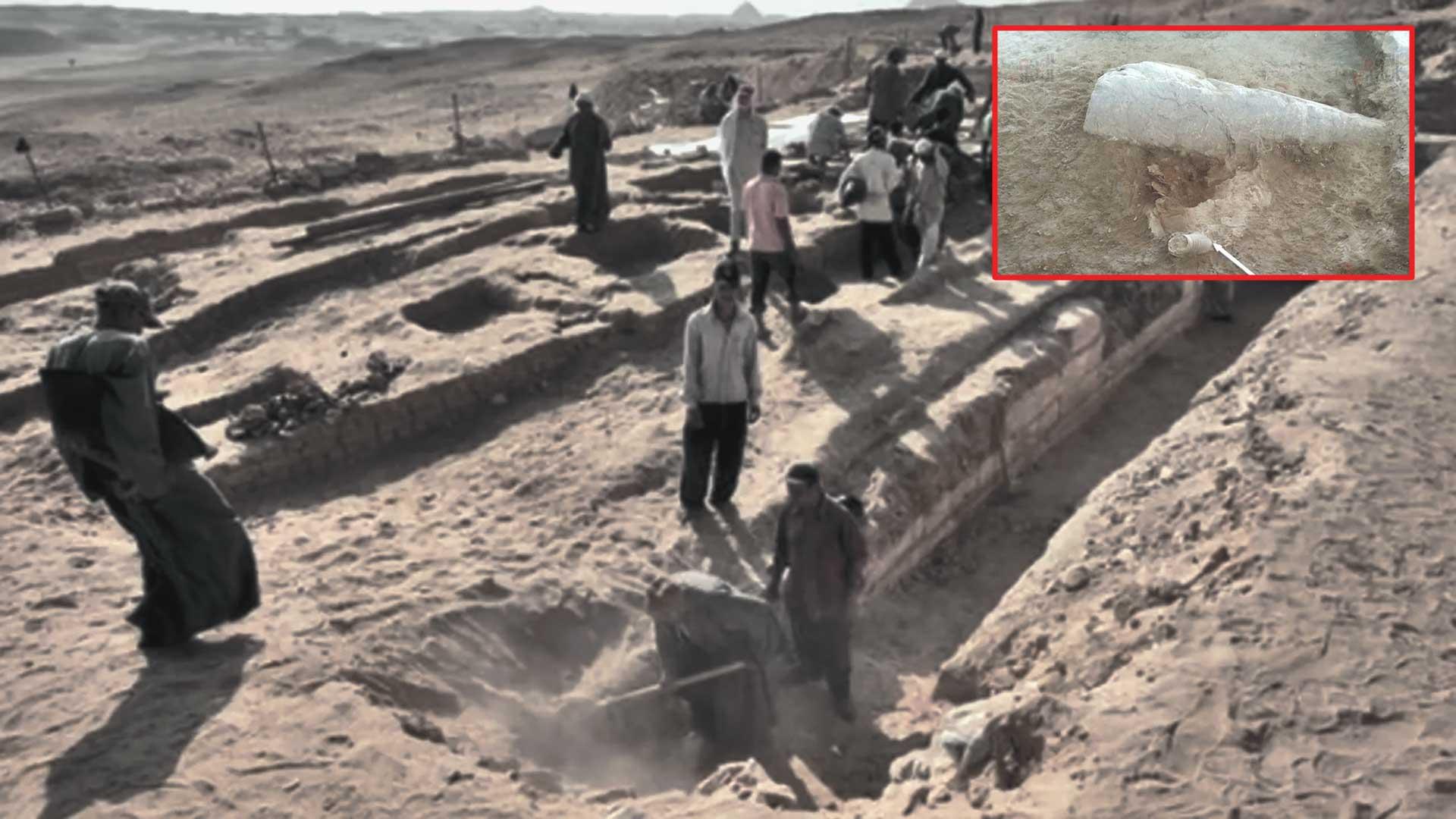 Hallan nueva Esfinge bajo tierra en Egipto