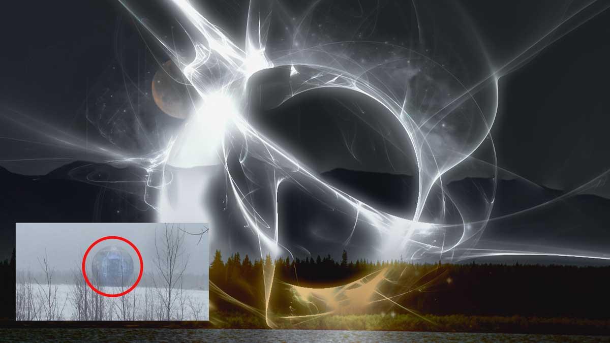 Extrañas esferas de luz grabadas en Siberia, ¿de qué se trata?
