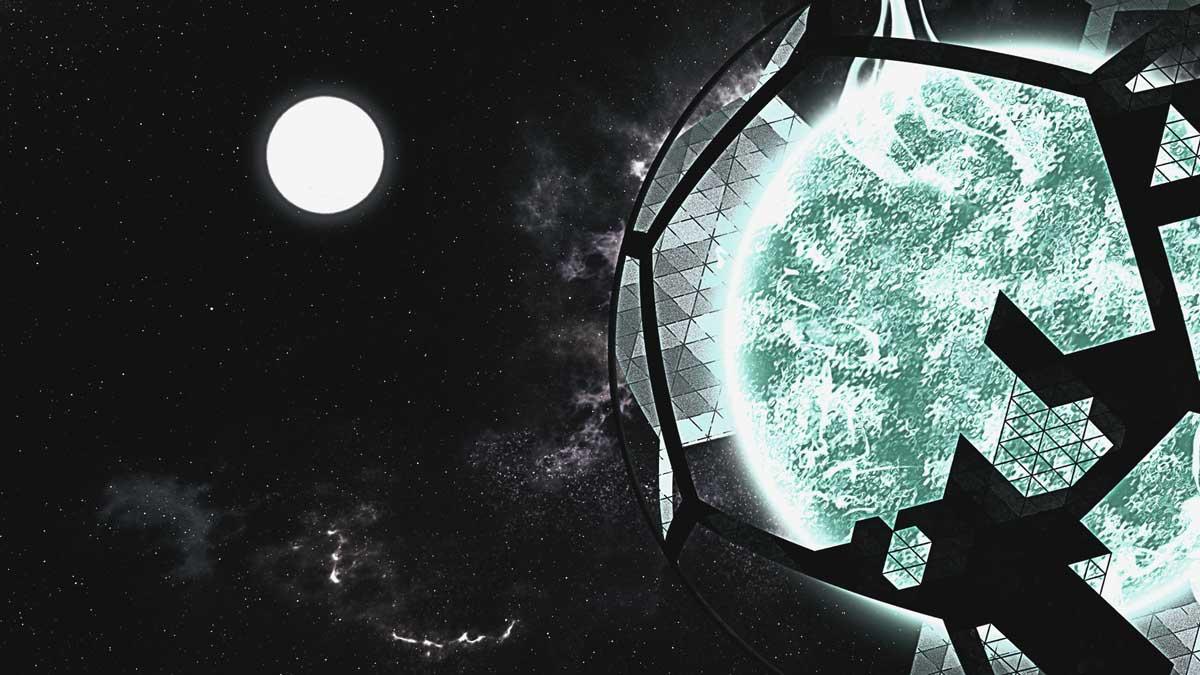 Extraño hexágono captado en el cielo da lugar a la teoría del Sol Simulado ¿qué hay de cierto en esto?