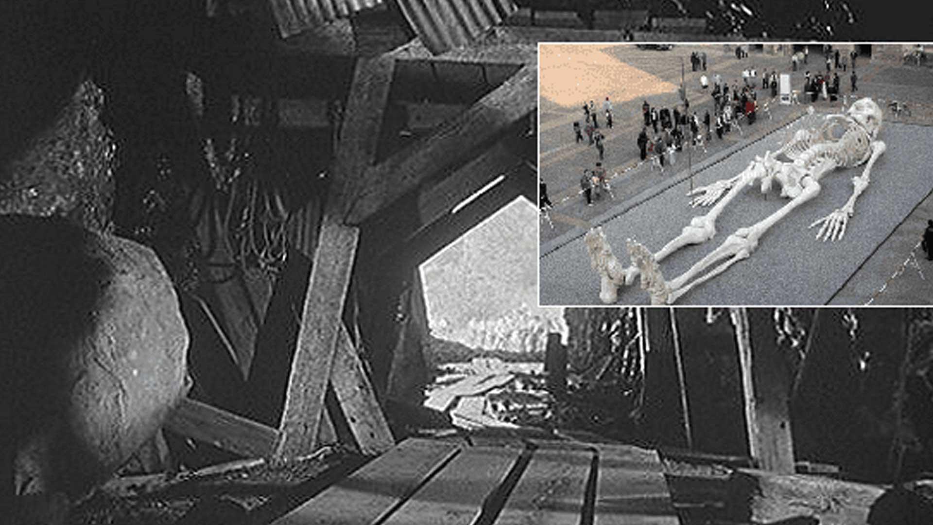 Encuentran Esqueleto Gigante y una Ciudad Subterránea debajo de Missouri