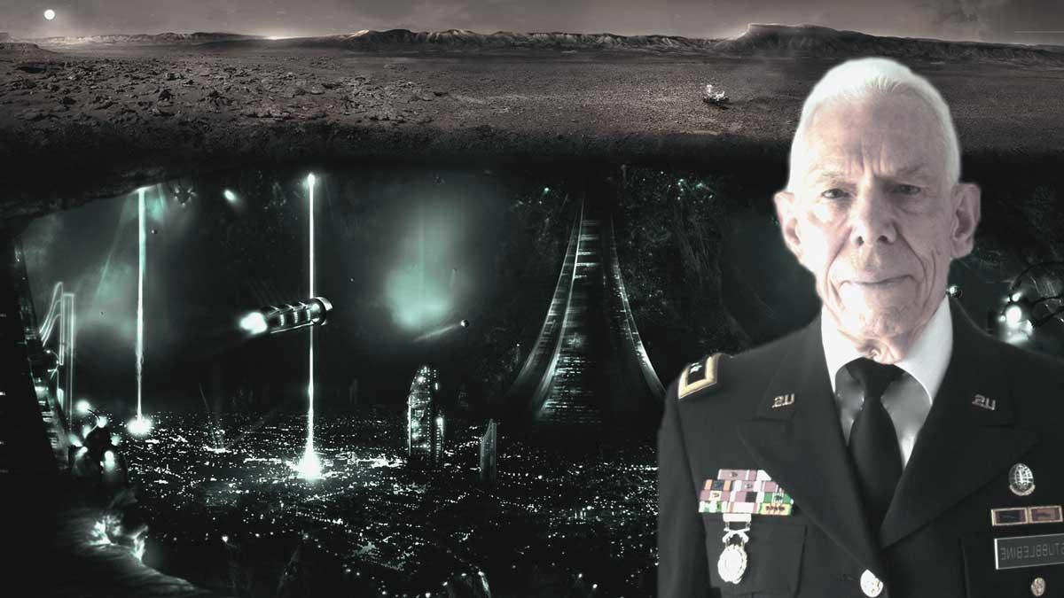 Ex General de los Estados Unidos habla sobre lo que hay realmente en Marte