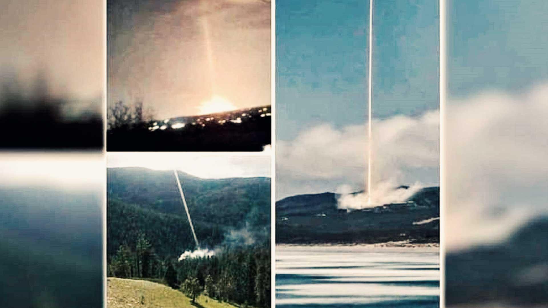 Imágenes como un arma de energía dirigida pudo ser el causante de los incendios en California