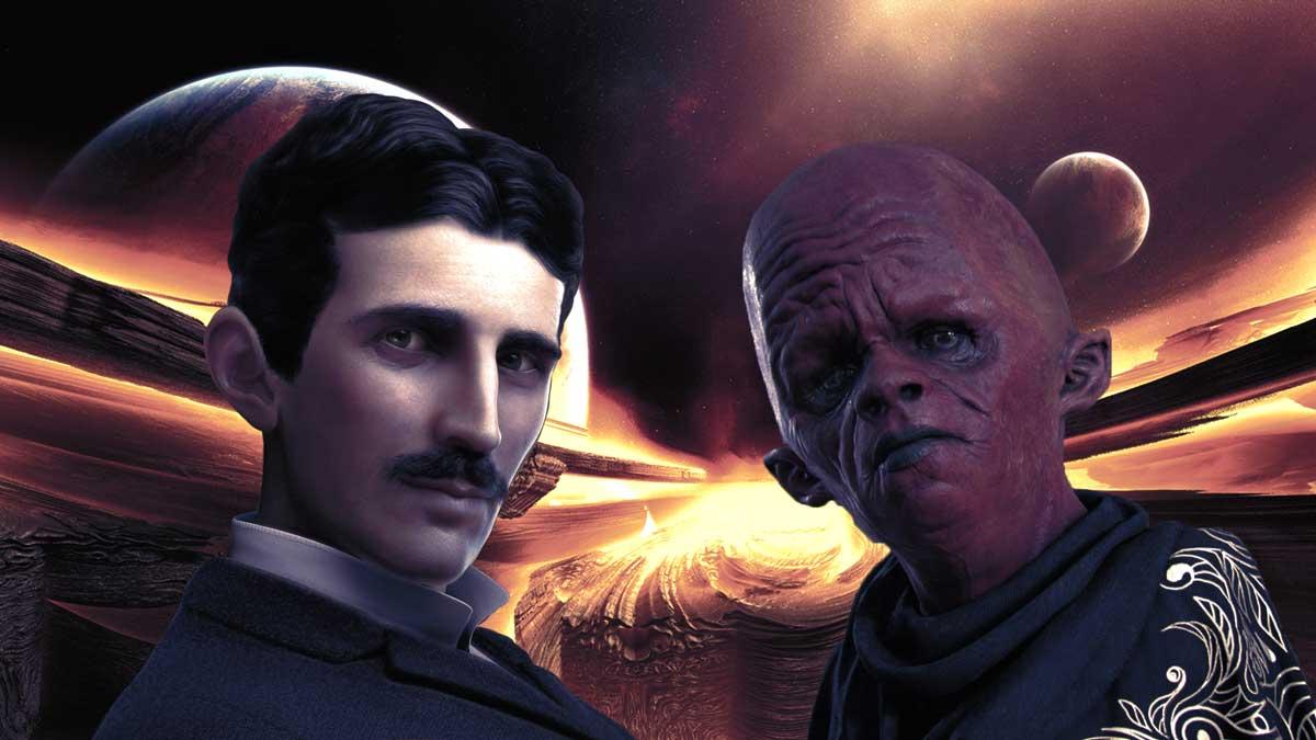 El biógrafo de Nikola Tesla admite que el físico tuvo contacto con extraterrestres
