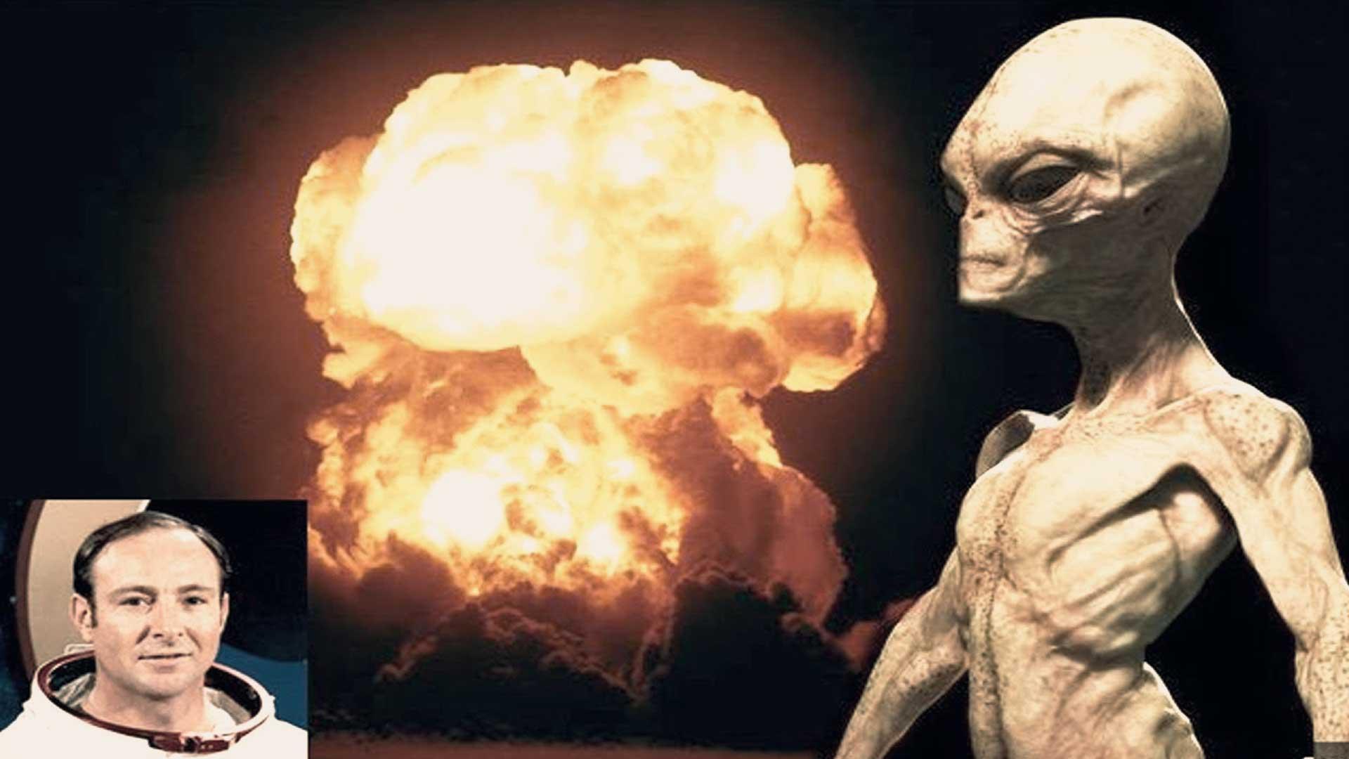 Ex astronauta afirma que la guerra nuclear entre los Estados Unidos y Rusia fue evitada por extraterrestres