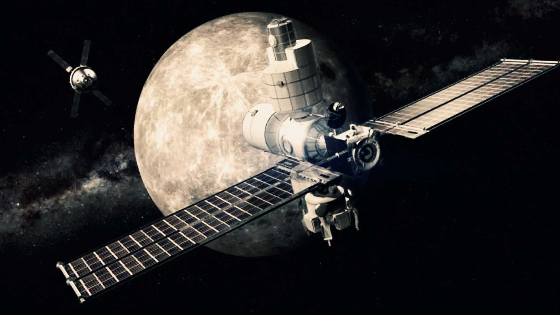 Acaba de ingresar a la órbita lunar, la nave espacial China que pretende explorar el lado oscuro de la Luna