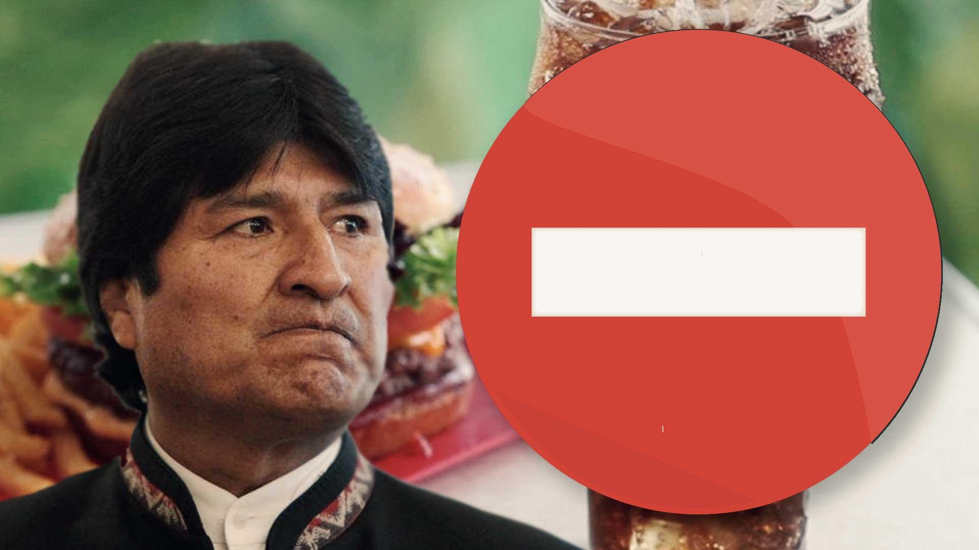 Bolivia detiene su producción de Coca Cola y McDonald's por tiempo indefinido