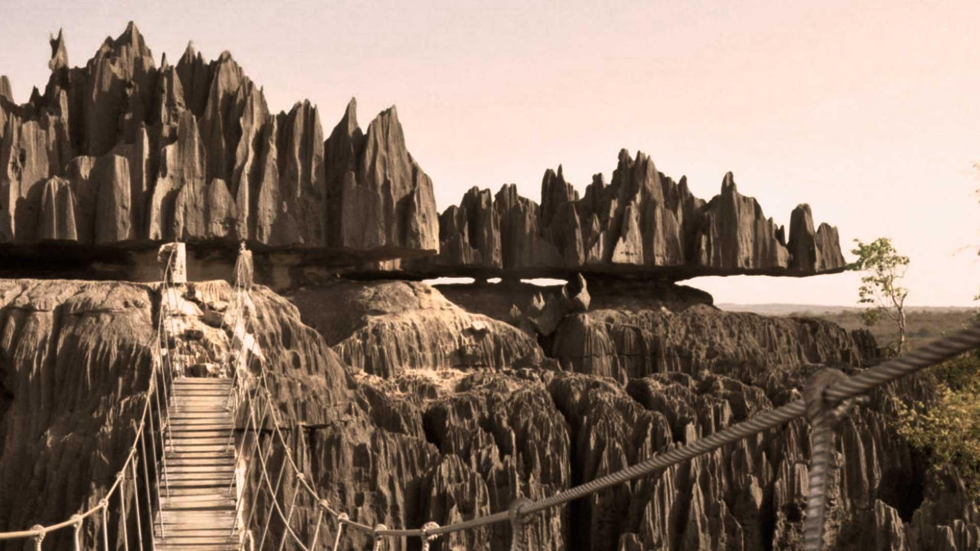 El Misterio de las Rocas Flotantes de Madagascar. Increíble paraje «natural»