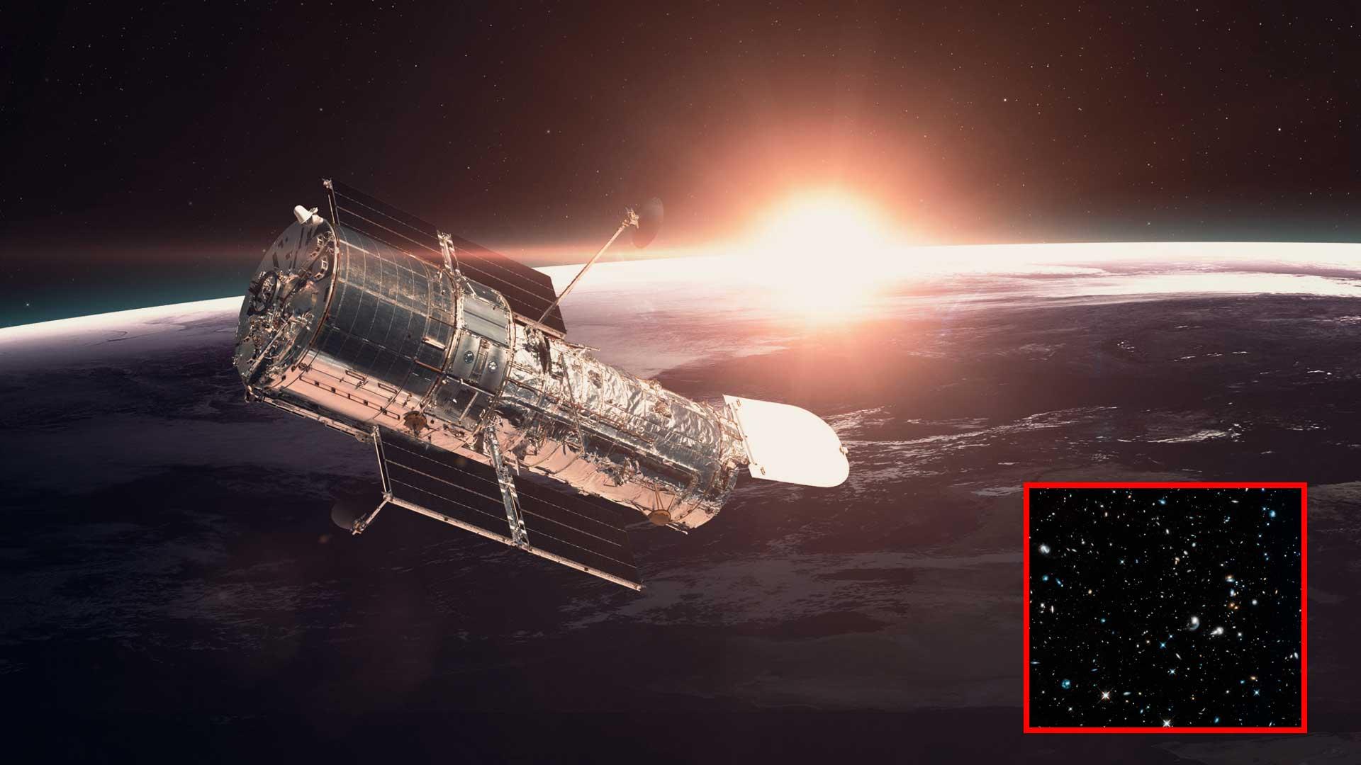 Hubble vuelve a la vida y nos envía una espectacular primera imagen luego de salir del modo seguro