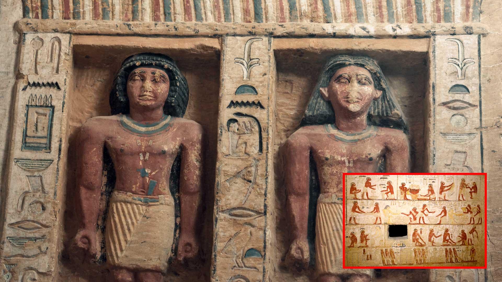Hallan tumba de un Inspector Divino en Egipto que data de hace 4.000 años