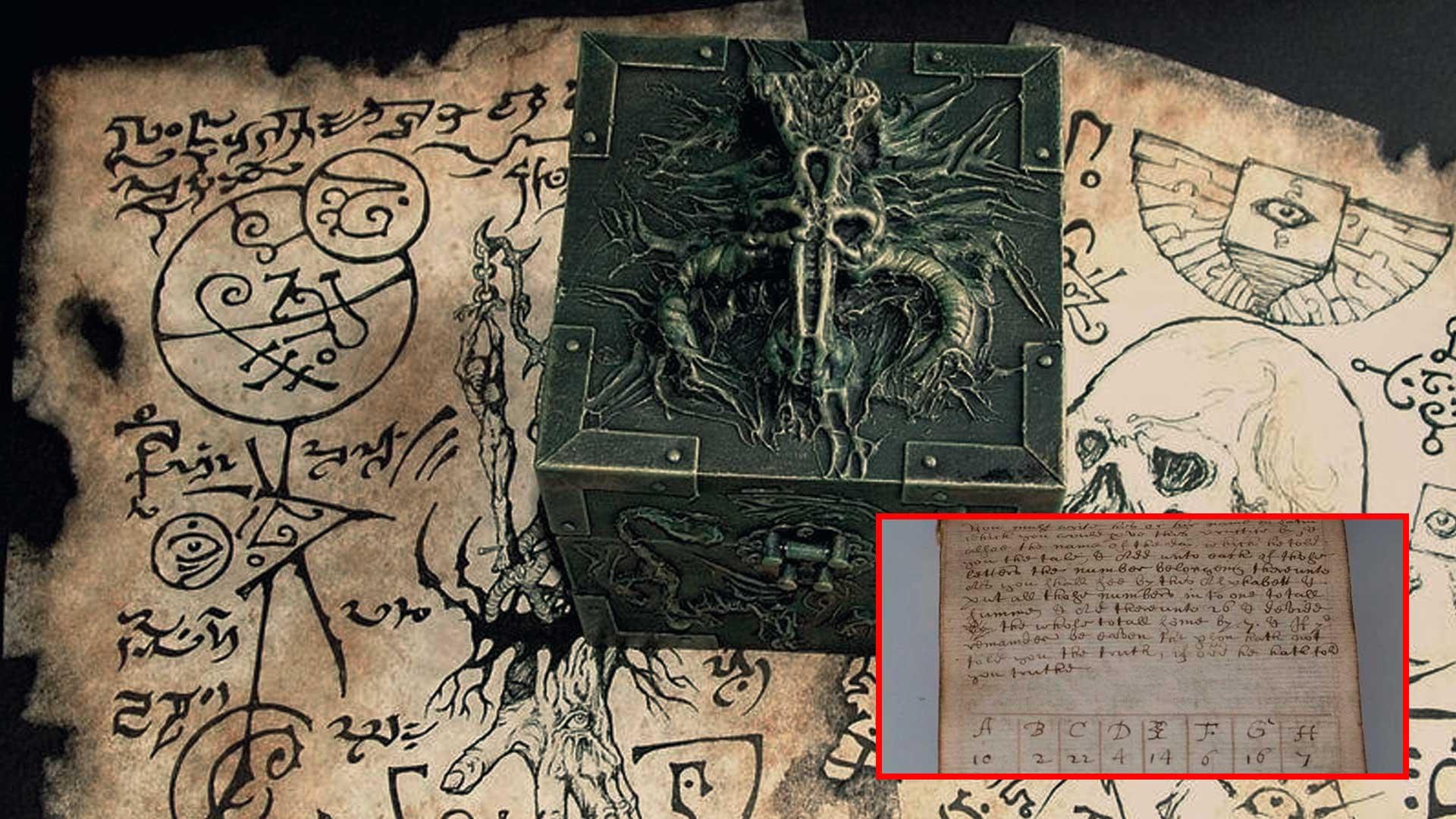 Extraño Manuscrito Mágico ancestral ha sido vendido en subasta por 28.000 dólares