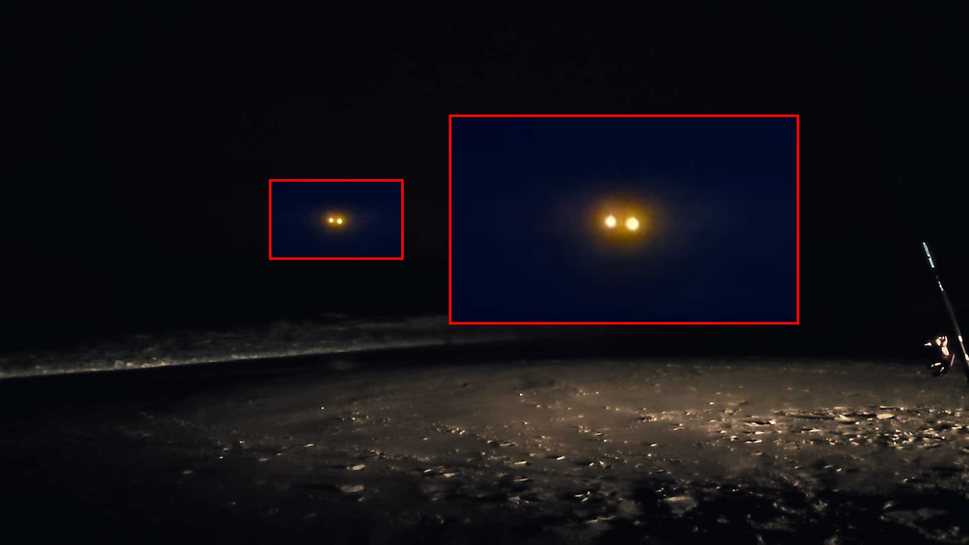 ¿Puede ser esto un OSNI? raro objeto captado sobre el mar en Carolina del Norte