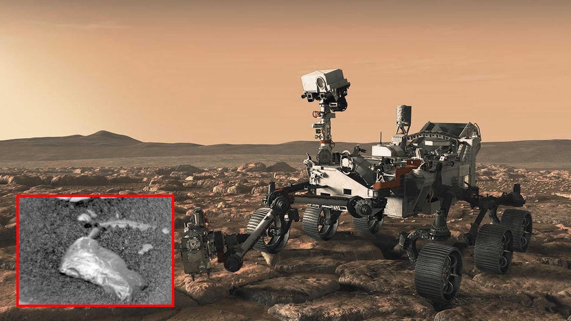 Curiosity halla rara roca dorada en la superficie de Marte y científicos no dan crédito