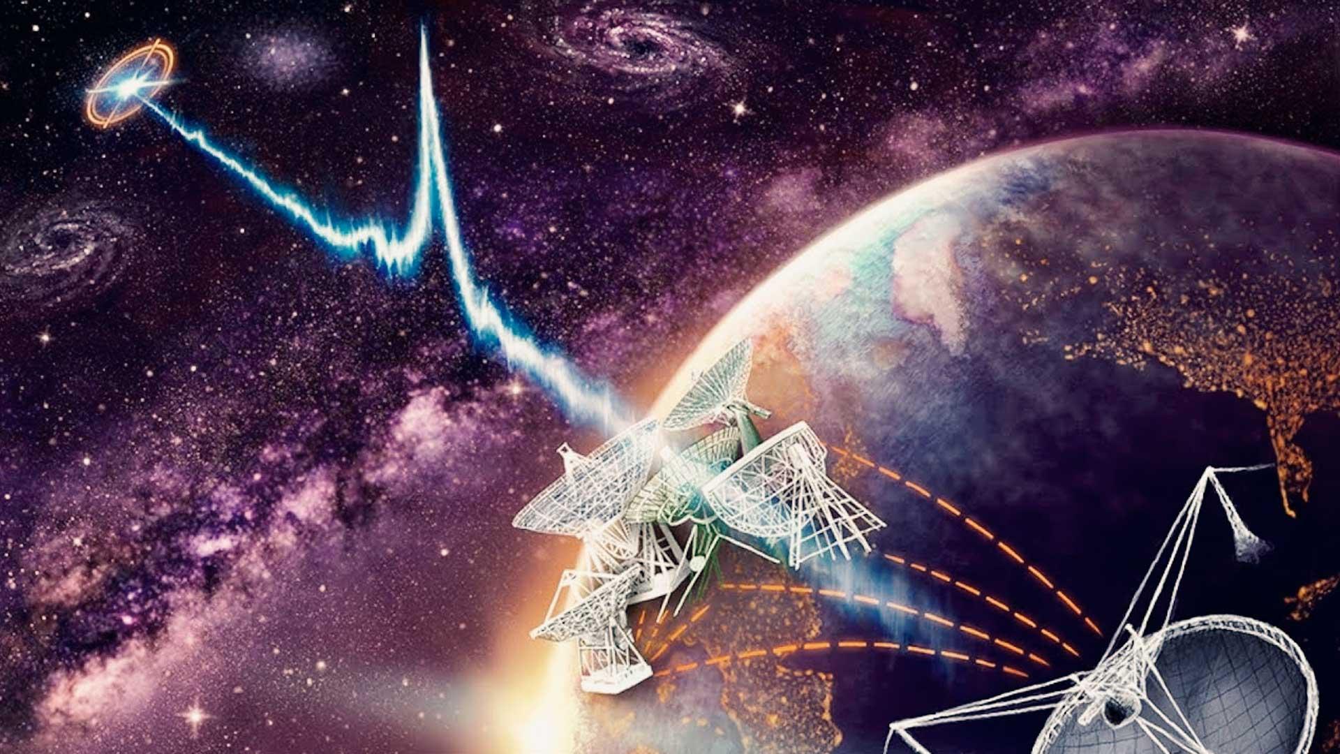Astrofísicos acaban de recibir otra señal de alta energía de origen extraterrestre