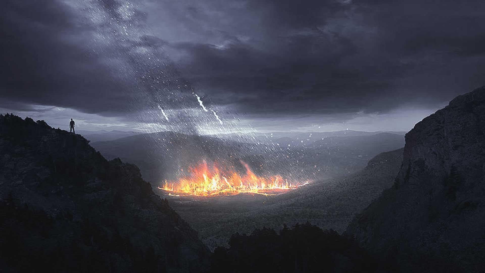 Según nuevos estudios realizados Sodoma y Gomorra fueron destruidos por un asteroide