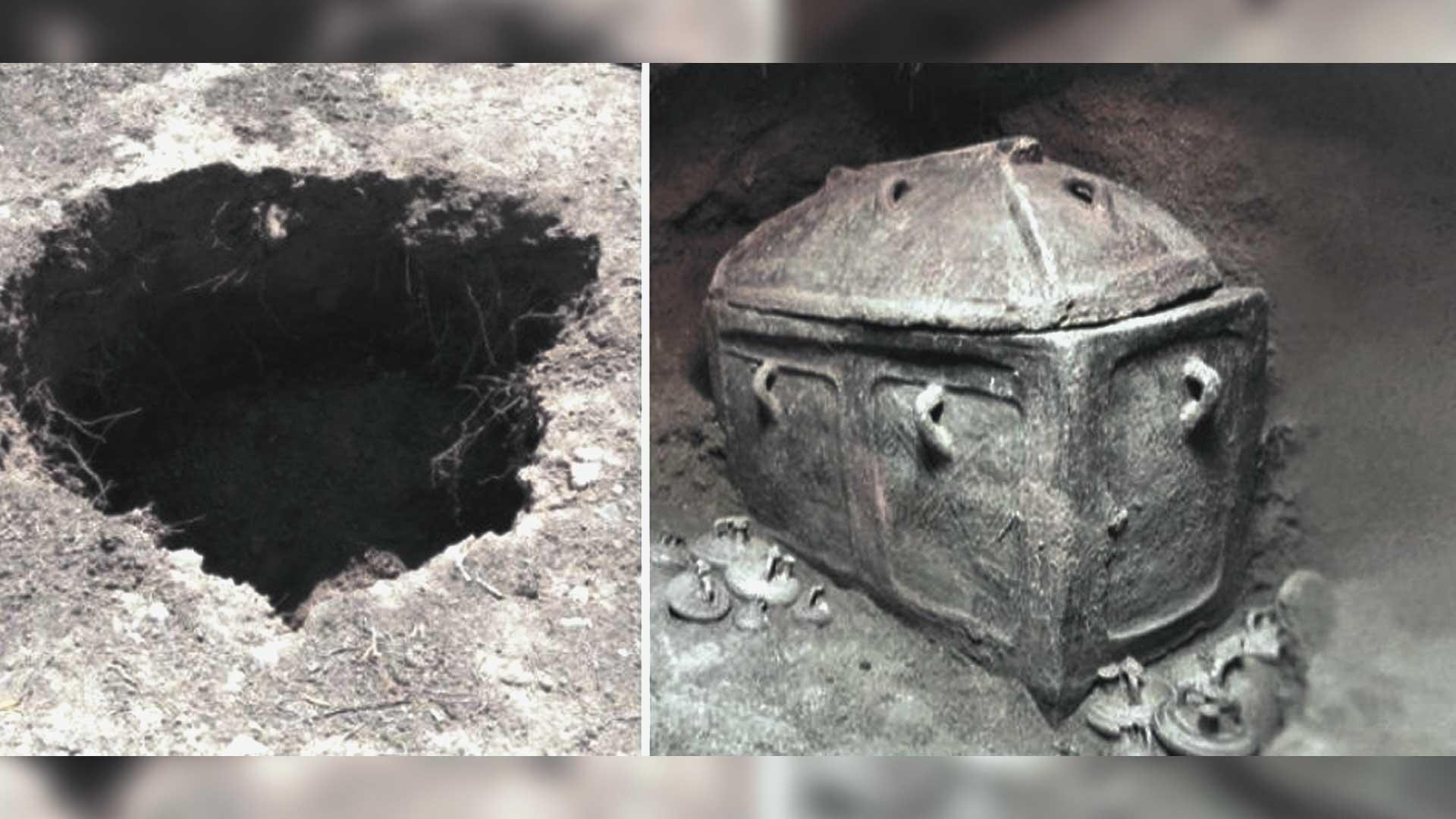 Granjero griego encuentra lo que se supone es la antigua tumba minoica debajo de su propiedad