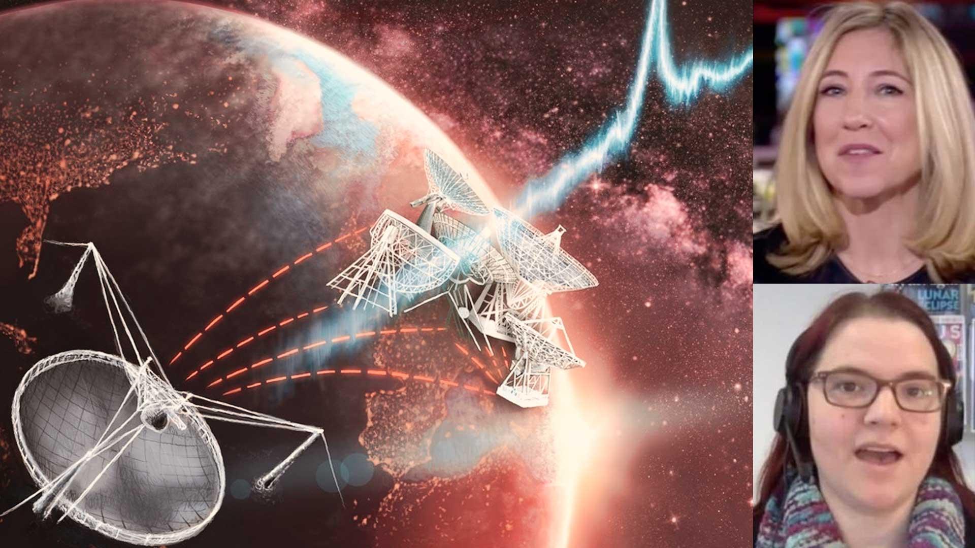 Astrofísica es silenciada en directo cuando insinuaba que estamos siendo contactados por extraterrestres