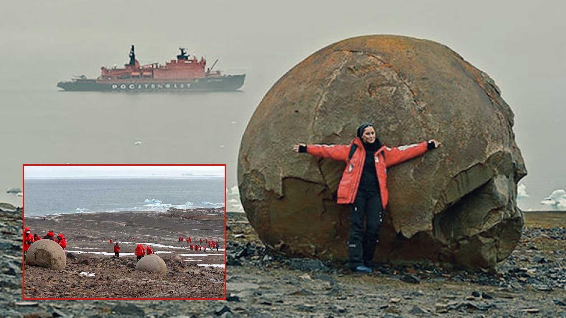 ¿Qué misterio se esconde tras los Balones de los Dioses en el continente Ártico?
